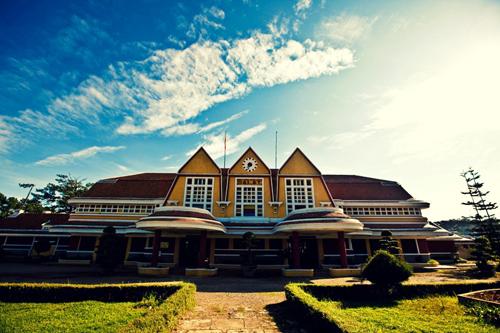 Kiến trúc Nhà ga xe lửa cổ của Đà Lạt