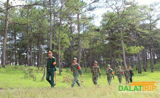 bảo vệ rừng Đà Lạt