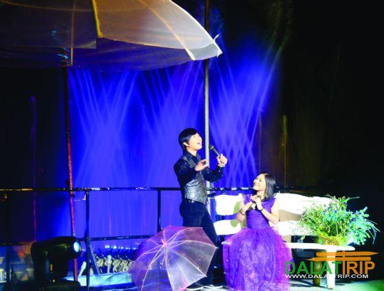 Cơn mưa mùa hè Đà Lạt