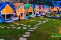 Trải nghiệm hostel dạng ống tròn ở Đà Lạt