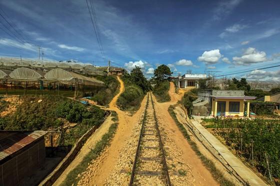 Cảnh ven đường tàu