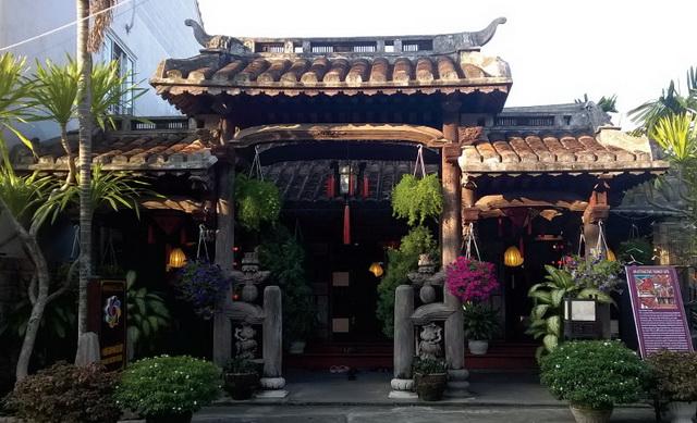A restaurant in Hoi An