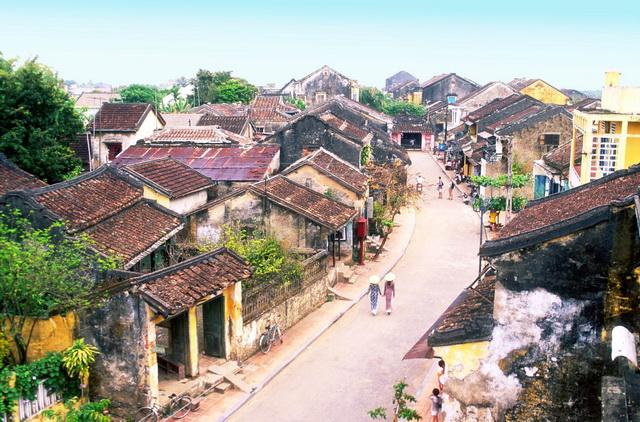 A street of Hoi An