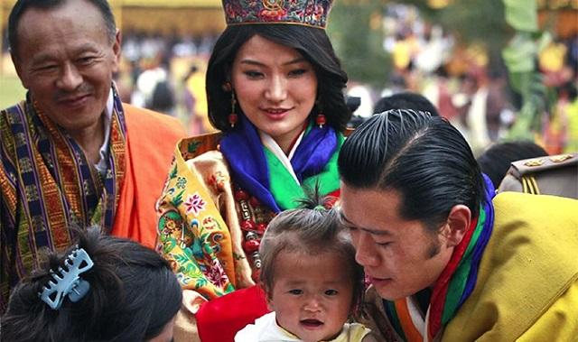 Bhutan's 5th King and Queen are meeting all strata