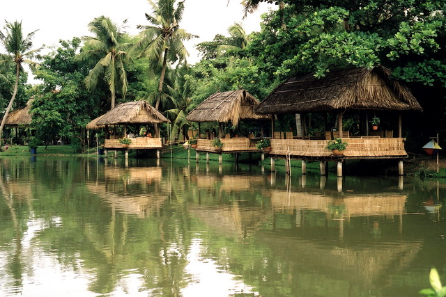 Fishing spots in Binh Quoi