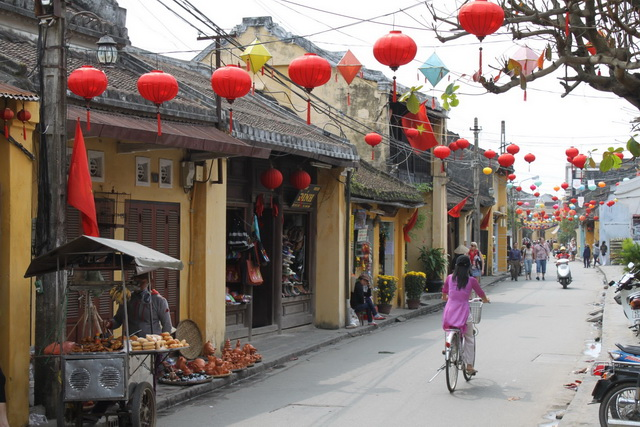 Hoi An is the heritage ancient town