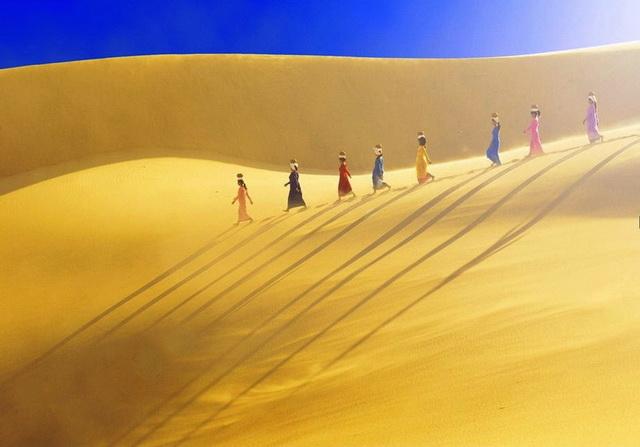 越南的Cuong沙丘