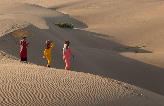 Sunset at Nam Cuong dunes