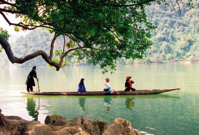 Ba Be Lake in Vietnam