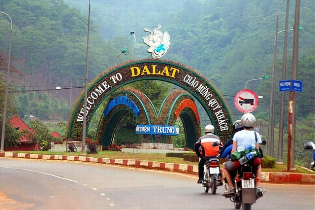 The Highway 20 - Ho Chi Minh to Dalat