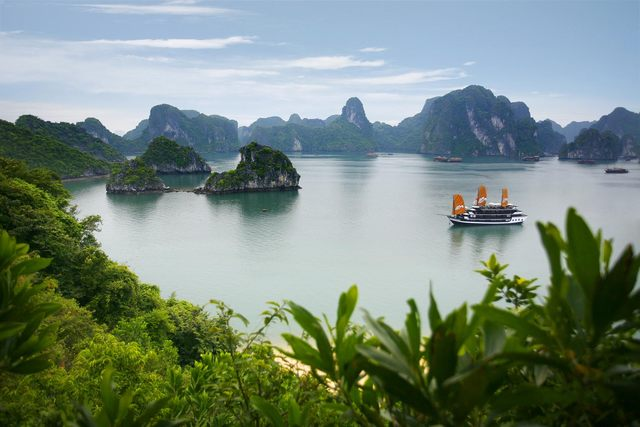 Un coin de Ha Long Bay