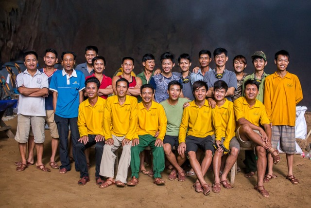 All of them are natives with forest livelihood, now their livelihood is serving the tourists
