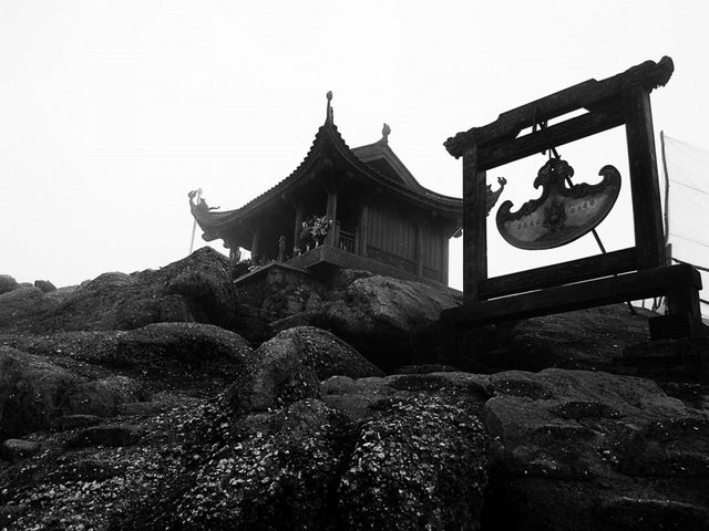 Dong Pagoda - peak of Yen Tu mountain