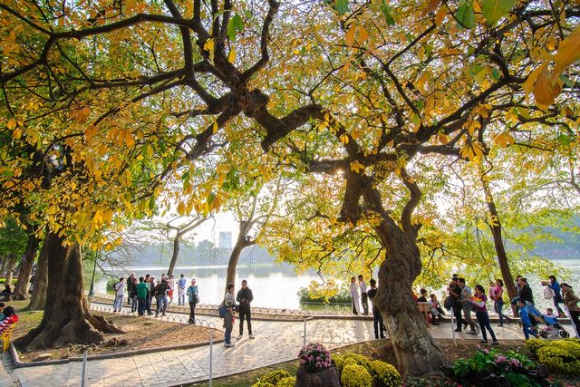 Hanoi in fall season