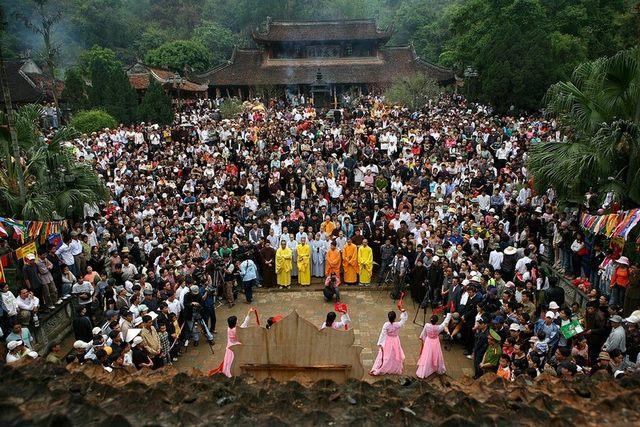 Фестиваль Хуонг пагода