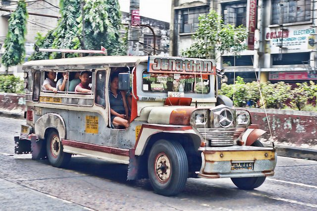 Jeepney car