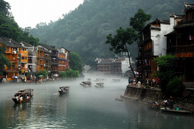 The poetic beauty of Fenghuang