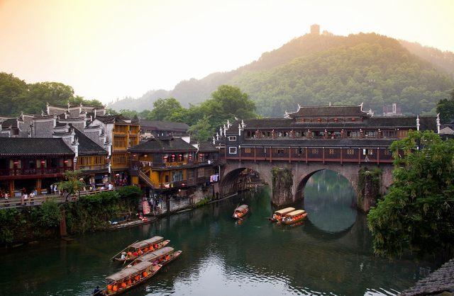 Tourist excursion on the river