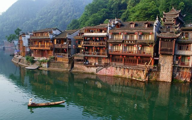 The poetic beauty of Fenghuang town