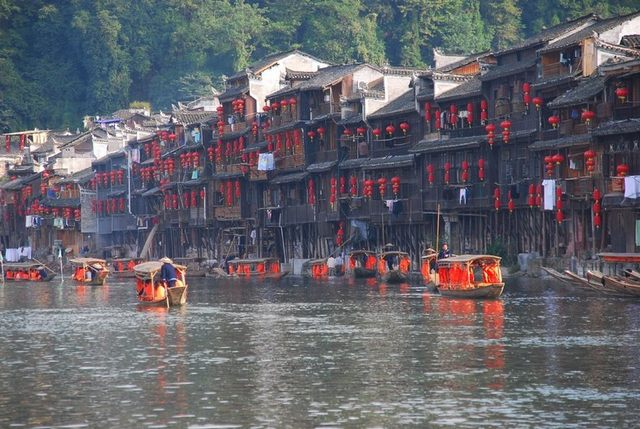 Ancient architecture of Fenghuang ancient town