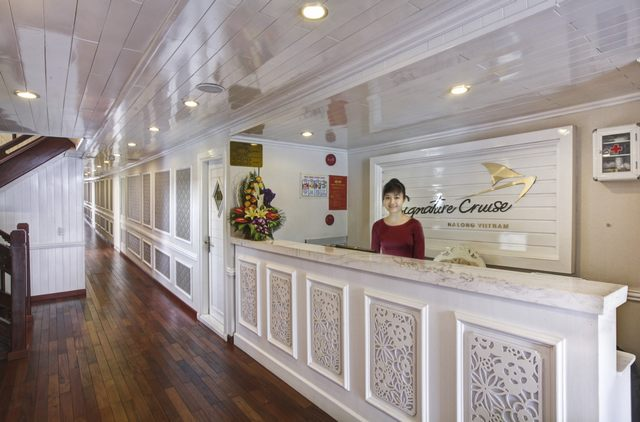 Receptionist of Signature Halong Cruises
