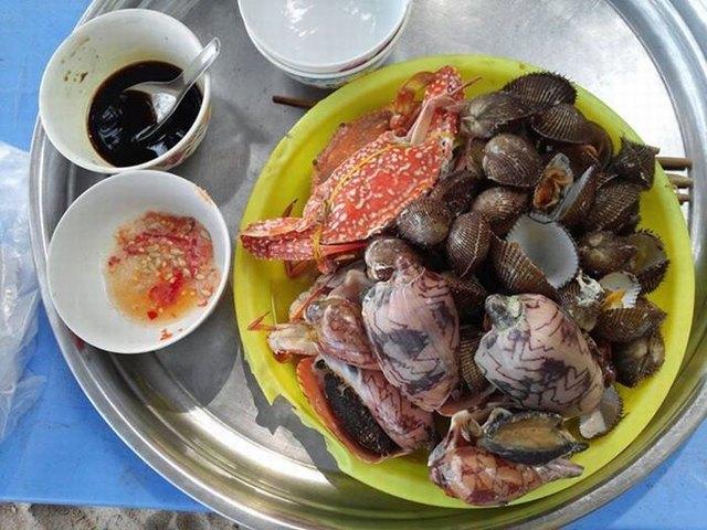 Seafood at Hon Son