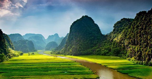 Trang Un paysage