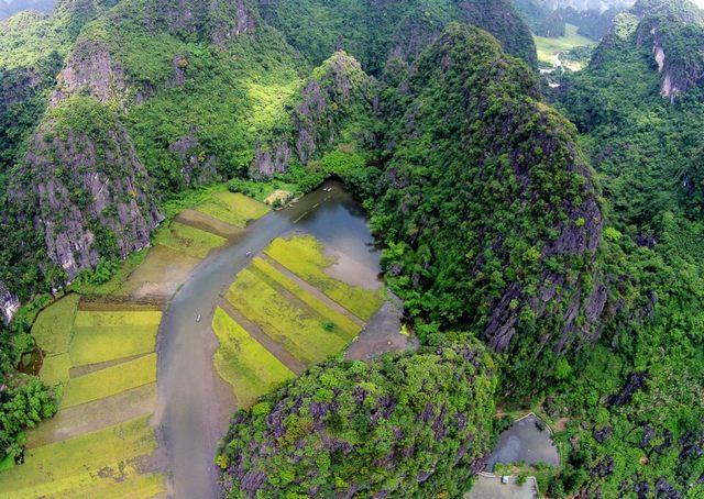 Trang An panorama