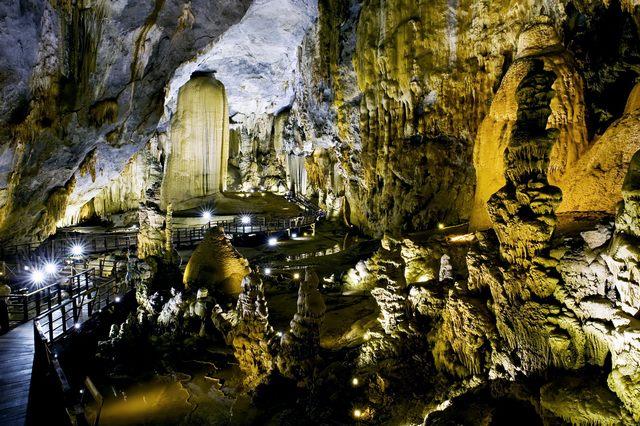 Phong Nha Cave à l'intérieur