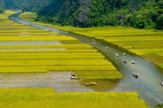 the way to Trang An 3
