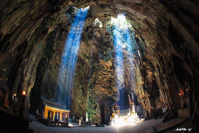 上午富洞穴 - 大理石