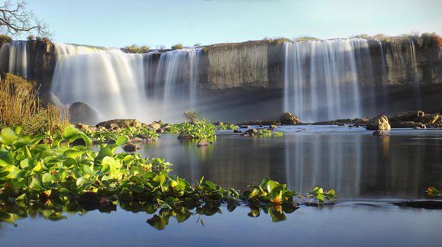 Dray Nur waterfall in dry season