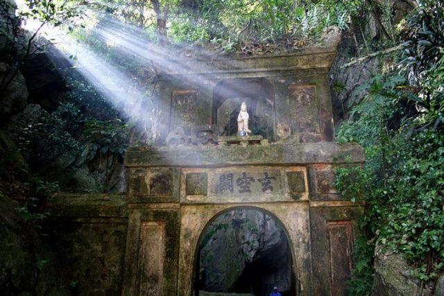 pagode Tam Thai - marbre