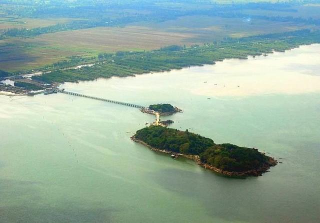 Da Bac island