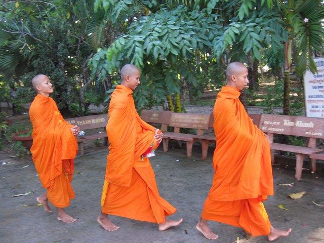 The Monks at Bat pagoda
