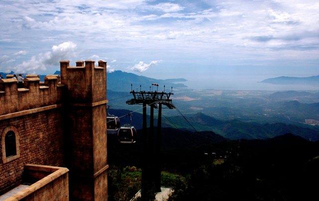 The corner of Ba Na hills