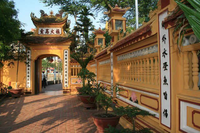 The gate of pagoda