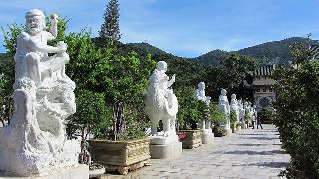 garden of pagoda