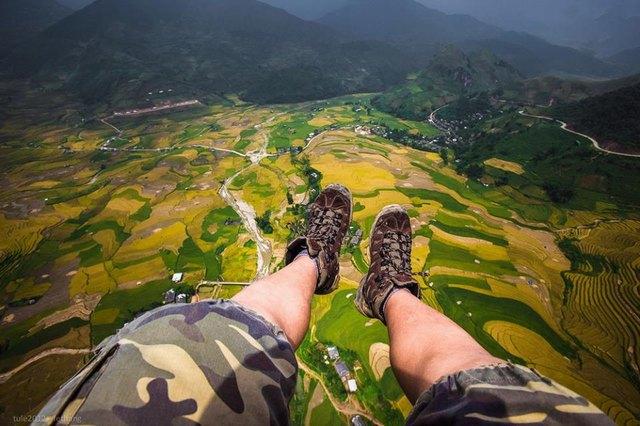 paragliding in Vietnam