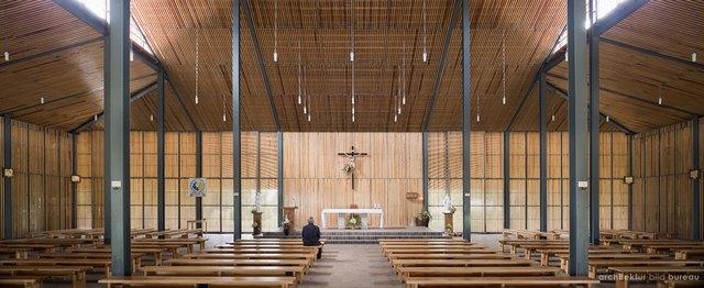 unique architecture of church