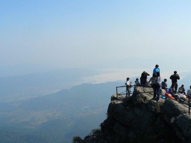 view from Yen Tu