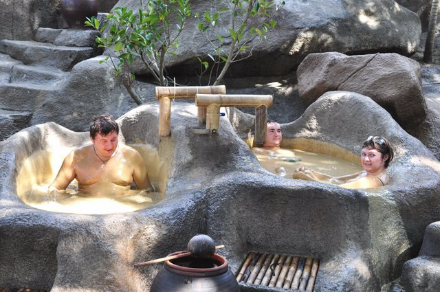 Mud bath in Nha Trang
