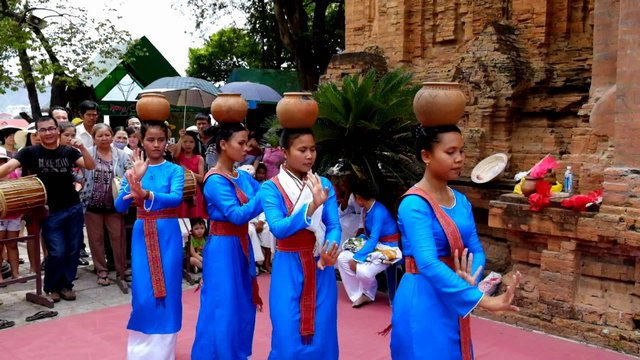 Ponagar塔节