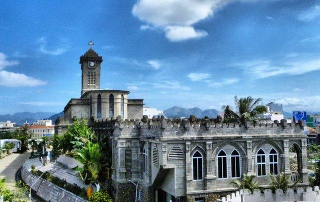 Stone Church in Nha Trang