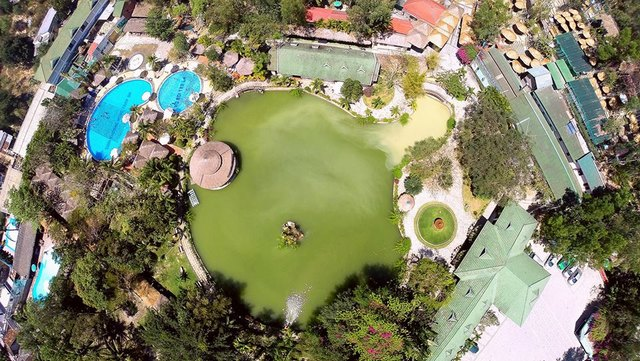 Thap Ba hot mineral springs