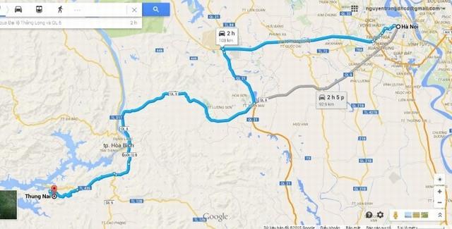Ha Noi to Thung Nai