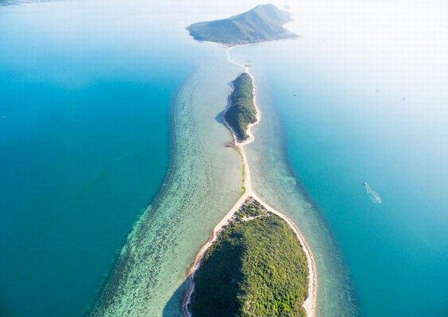 естественный путь пешком в море