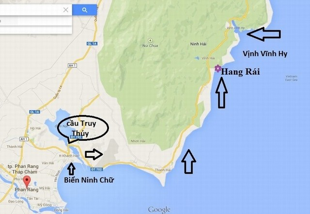direction to Rai cave