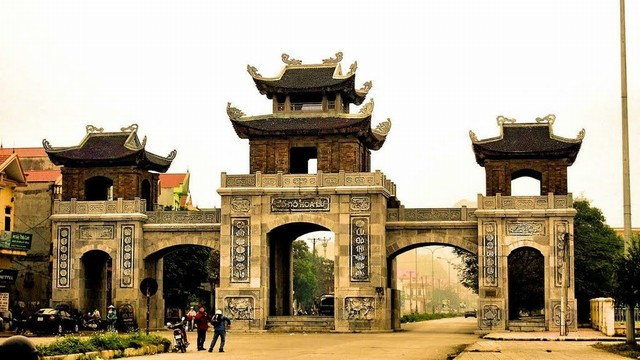 the gate get in Hoa Lu