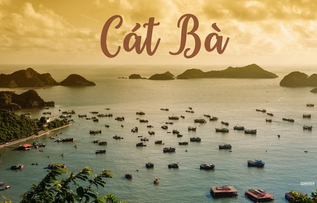 The islands of Cat Ba